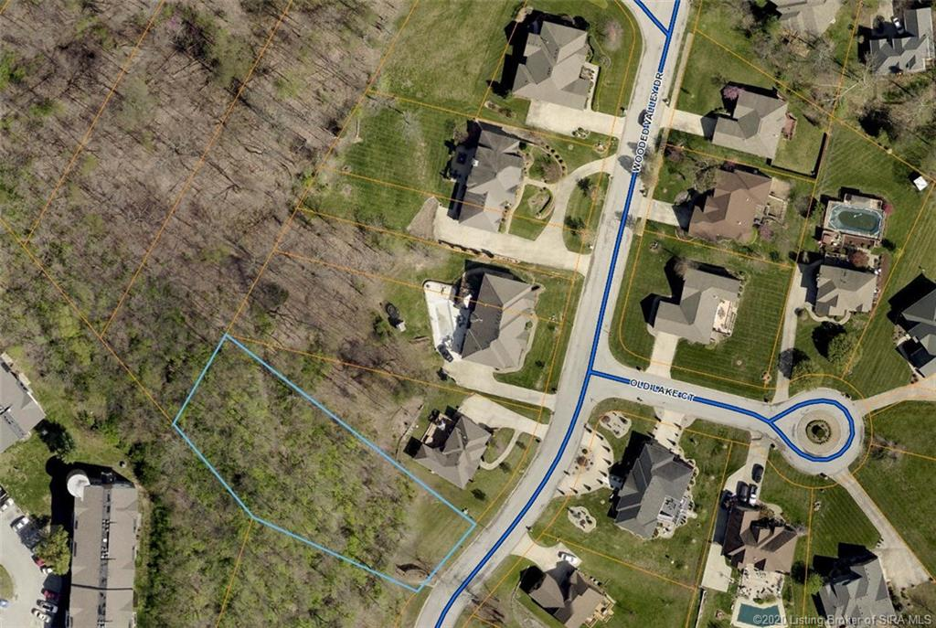 Arial View of 301 Wooded Valley Drive