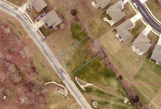 Arial View of Lot 8 Juniper Ridge Drive