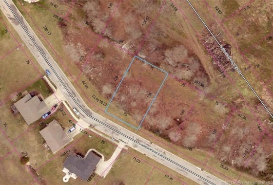 Arial View of Lot 56 Juniper Ridge Drive