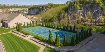Quarry Bluff Tennis and Pickleball court