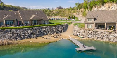 Quarry Bluff Beach and Dock
