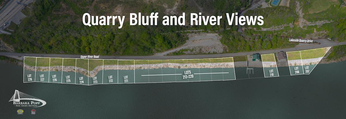 River Views near Quarry Bluff